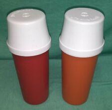 Tupperware ketchup and mustard dispensers