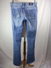 ROCK & REPUBLIC Kasandra Distressed Blue Jeans Size 12 32 x 32