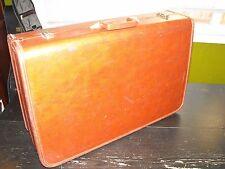 "Vintage mid-century J C Higgins large 26"" suitcase / luggage"