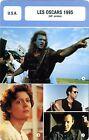 Fiche Cinéma évènements. Movie Card Events. Les Oscars 1995 (USA) 68e année