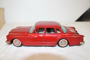Vintage 1960's Banda Japan Chrysler Valiant Metal Friction Dealer Promo Toy Car