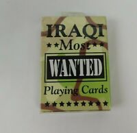 Genuine Bicycle Iraqi Most Wanted Playing Cards NEW Made In USA