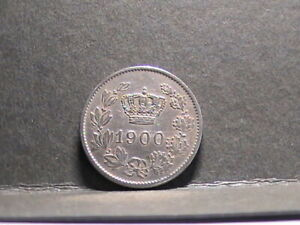 Romania 20 bani 1900 coin