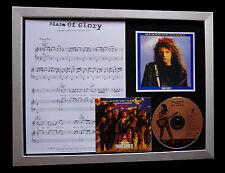 BON JOVI Blaze Of Glory TOP QUALITY CD MUSIC FRAMED DISPLAY+EXPRESS GLOBAL SHIP