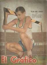 El Grafico Magazine Wilson Gomes Carneiro Gymnast 1952