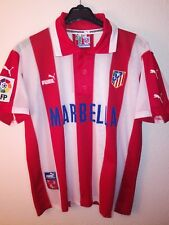 PUMA vtg Atletico de Madrid 1997-1998 Marbella soccer vintage camiseta Atleti 90