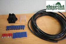 10m 12v Wiring loom kit for Campervan/Motorhome 12v Sockets, 12v Led Lighting