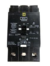 Square D Type Egb 30 Amp 3 Pole Circuit Breaker