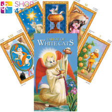 TAROT OF WHITE CATS DECK CARDS BARALDI ESOTERIC FORTUNE ORACLE TELLING NEW