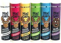 Mad Gab's Natural & Organic Moose Smooch Sticks Lip Balm Gift Set Assorted Scent