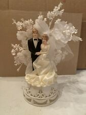 Vintage 1980 Wedding Cake Topper