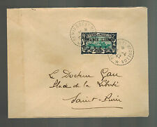 1942 St Pierre Miquelon Cover Local # 215
