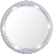 Schmink Spiegel mit LED Rand Beleuchtung Auto Bade Zimmer Camping
