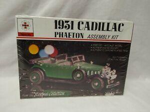 Vintage Renwal 1:48 Scale 1931 Cadillac Phaeton Car Model Kit Factory Sealed 153