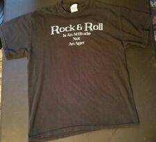 Dave Mason - Concert T-Shirt Rock And Roll Is And Attitude.