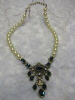 "HEIDI DAUS ""Object Of Desire"" (Montana Blue) Necklace (Orig.$189.95)-LAST ONE!!!"