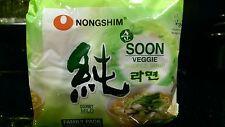 4 Packs Nongshim Soon Veggie Ramyun Ramen FREE PRIORITY SHIPPING