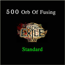 Path of Exile 500 x Orb of Fusing PoE Item Standard League Server Softcore SC NA