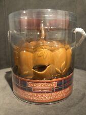 YANKEE CANDLE PUMPKIN LUMINARY TEALIGHT HOLDER Gift Set - New