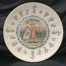 Royal Doulton Kate Greenaway Sagitarius Zodiac Signs Ltd.Ed. Collector Plate