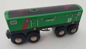 Brio Green Cargo Wooden Train with sound