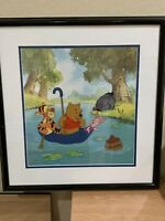 "DISNEY  WINNIE THE POOH "" POOH'S HUNNY HUNT"" LIMITED EDITION SERICEL."