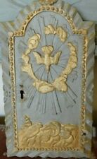 19th Century French Hand Carved Tabernacle Door Dove of Peace, Religious Antique