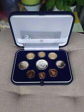 ITALIA - Serie PROOF 2007 - 8 Valori più 5 Euro in Argento