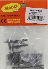 SLOT IT SICS16P/2 CHAPARRAL TEARPROOF PARTS OK FOR EVO 6 NEW 1/32 SLOT CAR PART