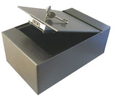 Asec Top Opening Key Opperated Cupboard Safe with £1000 Cash Rating 203mm