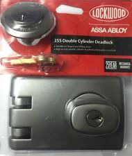 Lockwood 355 sc deadlock Lock Brand new satin chrome Brisbane pickup ok