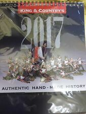 KING AND COUNTRY 2017 CALENDAR