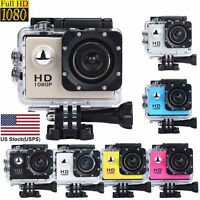 Mini Waterproof Sports Recorder Car DV Action Camera Camcorder 1080P HD US Stock