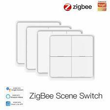 TUYA ZIGBEE 4 Gang Szene Schalter Smart Home Batterie Switch APP Fernbedienung