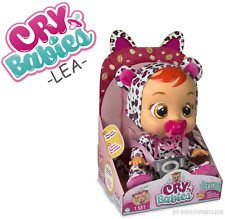 NEW Cry Babies LEA Baby Doll Girls Toy Cheetah - IMC TOYS AAA Batteries Included
