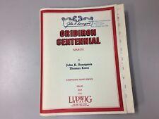 """Gridiron Centennial"" by John Bourgeois, Thomas Knox - Concert Band Set of Parts"