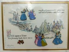 Disney Cinderella 50th Anniversary Pin Set framed 845/2500