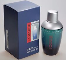 Hugo Boss Dark Blue 75 ml Eau de Toilette EdT Spray Neu / OVP