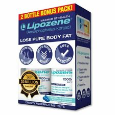 Lipozene - Weight Loss Supplement Diet Pills - Appetite Suppressant and Control