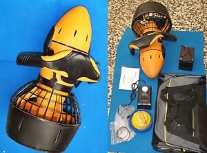 acquascooter waterscoter  scoter marino scuba water popeller 300 W piombo