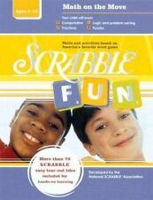 Scrabble Fun: Math on the Move (Intermediate Level)-ExLibrary