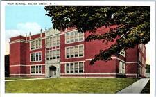 SILVER CREEK, New York  NY    HIGH SCHOOL  ca 1920s    Postcard