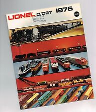1976 LIONEL Trains Catalog:C&O,GP-7/9,RECTIFIER,SP DAYLIGHT ALCO,NYC,ANNIVERSARY