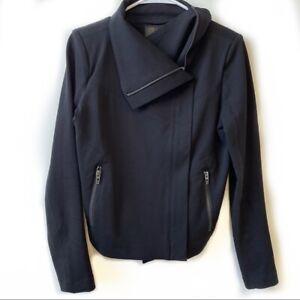 BLANK NYC Black Zip Up Moto Jacket