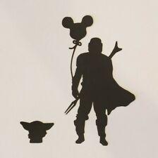 Disney Die Cut Star Wars Scrapbook Embellishment Mickey Balloon Mandalorian Yoda
