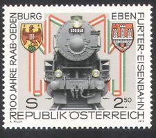 Austria 1979 Trains/Steam Engine/Railways 1v (n23121)