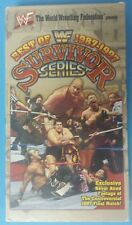 WWF/WWE Best of the Survivor Series 1987-1997 VHS Montreal Screwjob WCW NWO ECW