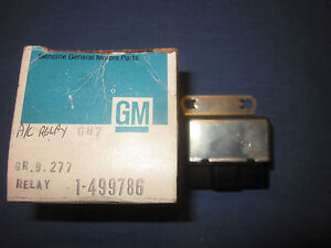 1975 PONTIAC GRANDVILLE BONNEVILLE  NOS A/C AIR COND.  RELAY 499786