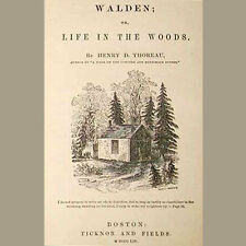 Walden - Henry David Thoreau - Audiobooks on mp3 CD