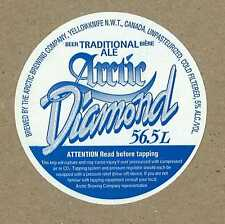 Arctic Brewing Diamond Yellowknife Canada Beer Label
